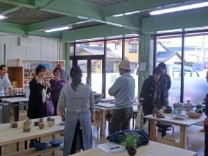 2014/03/21 2014/03/22 庭瀬陶芸工房見学会