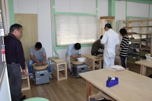 電動ロクロ体験教室開催!(14/5/11) (画像をクリックすると近況報告(ブログ)へ移動します。)