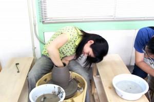 2014.7.6 木村知子先生の初の自由制作教室でした。 画像をクリックするとブログへ移動します。